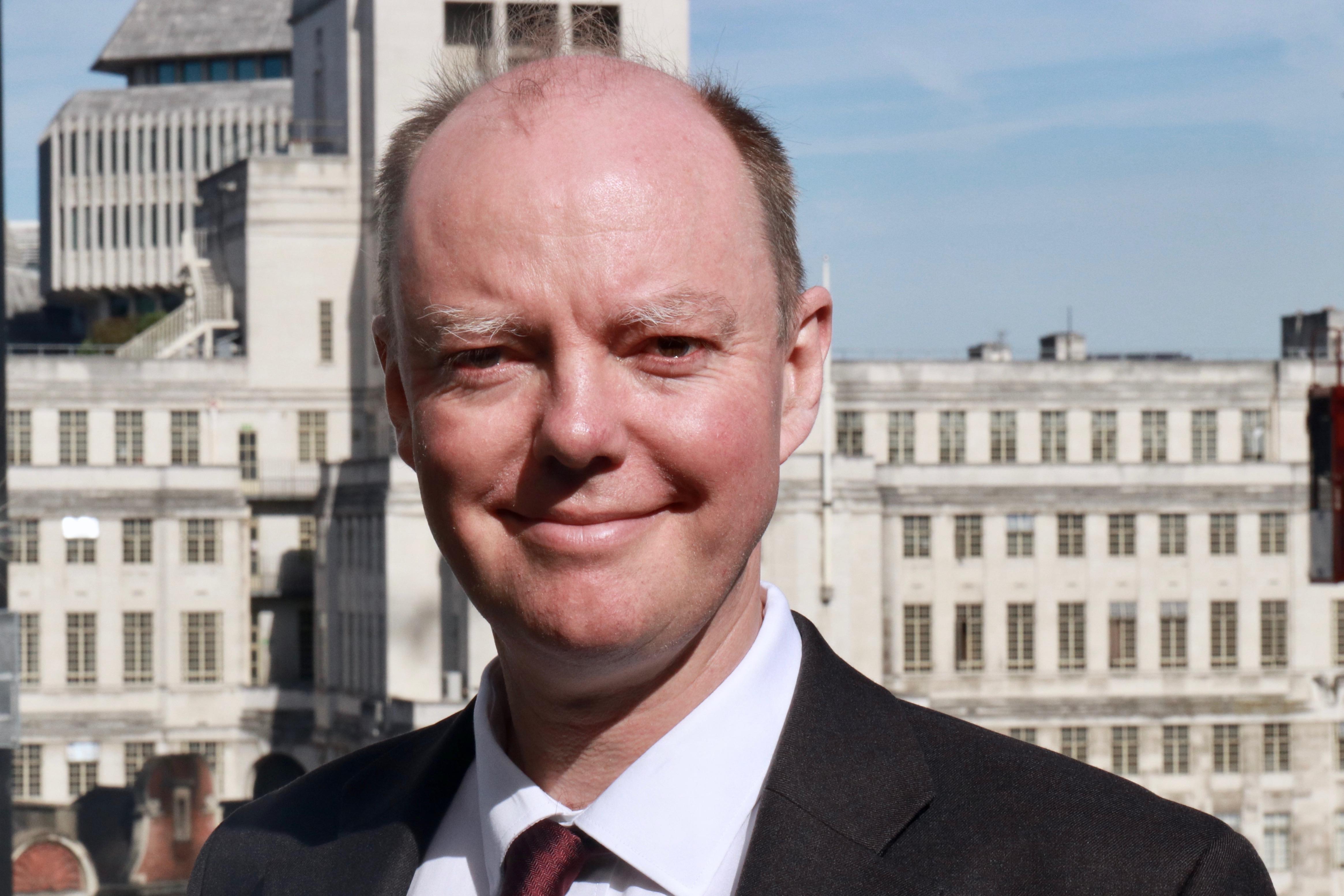 Professor Christopher Whitty